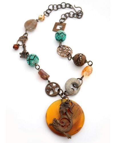 Beadniks Necklace - No2 (jawerlly)