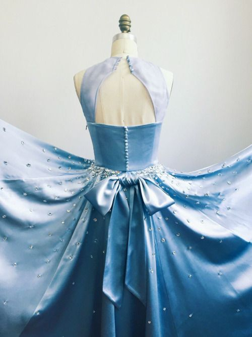 I'm so happy to share this reimagined #Cinderella gown designed as a collaboration by me and my incredibly talented friend @valentinakova!She brought this Cinderella vision to life just in time for the ball! #DisneyCinderella
