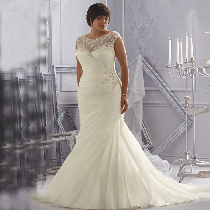 Boho Plus Size Wedding Dress - Bohemian Wedding Dress