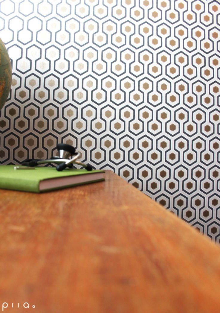 Hick`s Hexagon tuo huoneeseen graafista ilmettä.