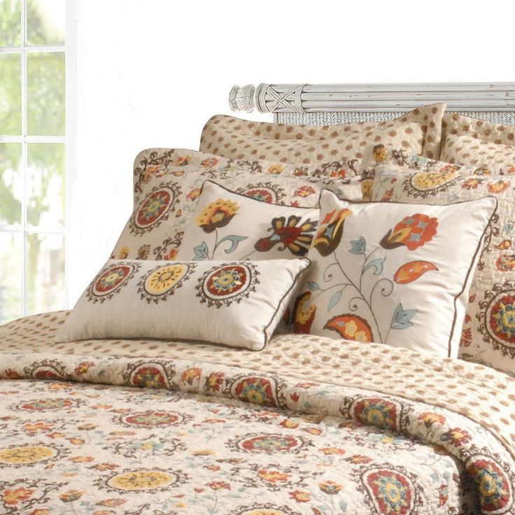 Greenland home fashions andorra 5piece bonus quilt set
