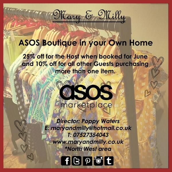 Special home party offer for June!