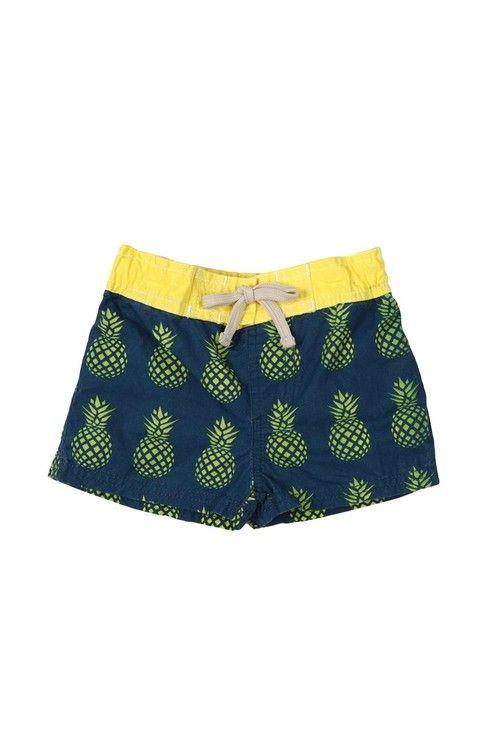 pineapple boardshort | cotton on