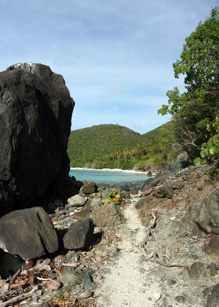 Hike hundreds of trails in the Virgin Islands National Park, Coral Bay, St. John, US Virgin Islands (Windspree Vacation Homes)