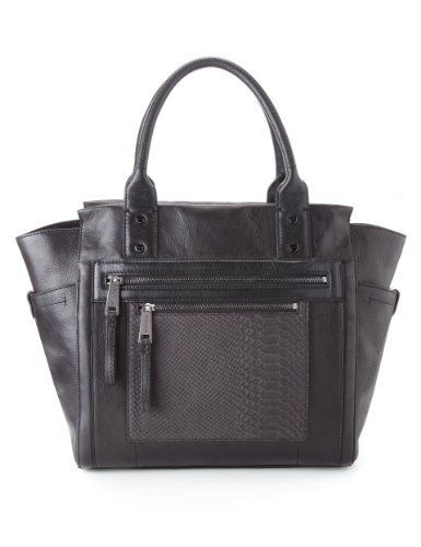 Autograph Leather Panelled Tote Bag - Marks & Spencer