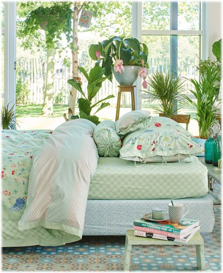 Housse de couette Pip Studio Hummingbirds green