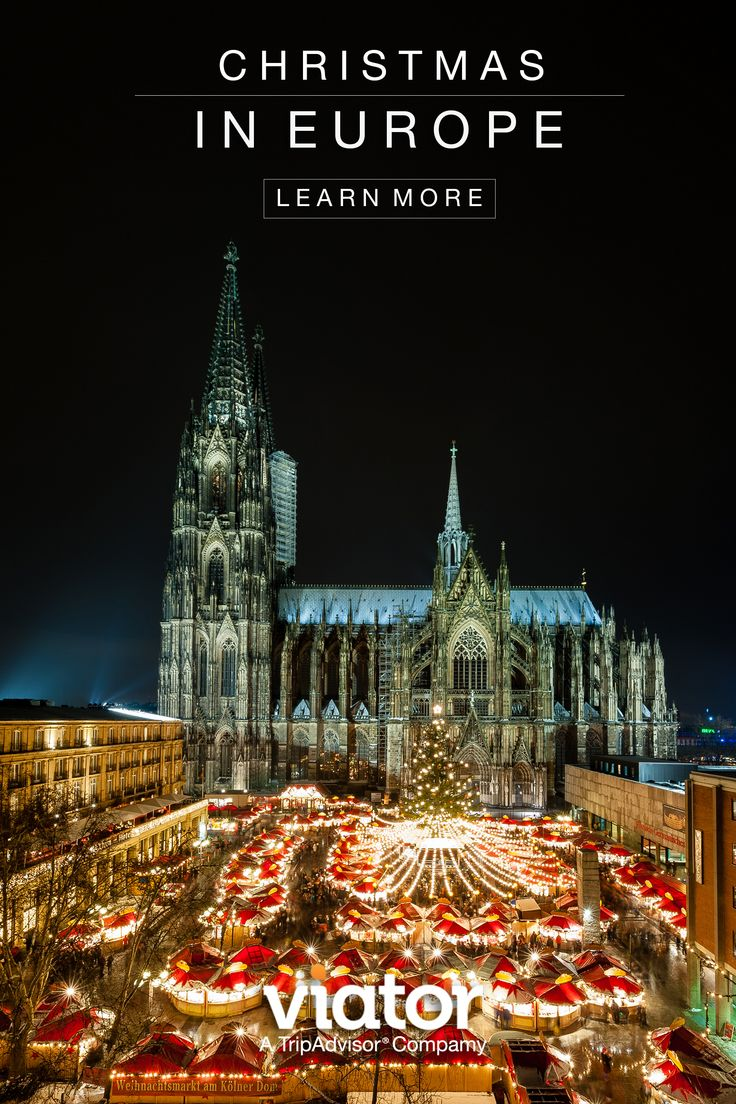 There may be no better way to get into the festive holiday spirit than a visit to a bustling Christmas market in Germany.