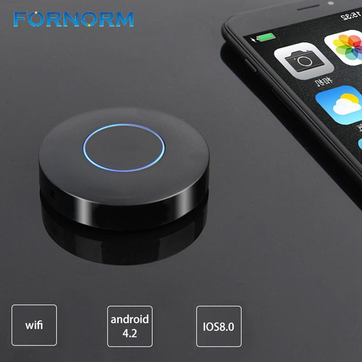 FORNORM 1080P Wireless Display Dongle WIFI Wireless Display Receiver Mirroring Device HD AV Output for Computer Projector TV