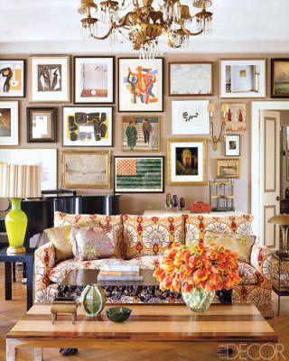 Kristen Buckingham's Living Room.