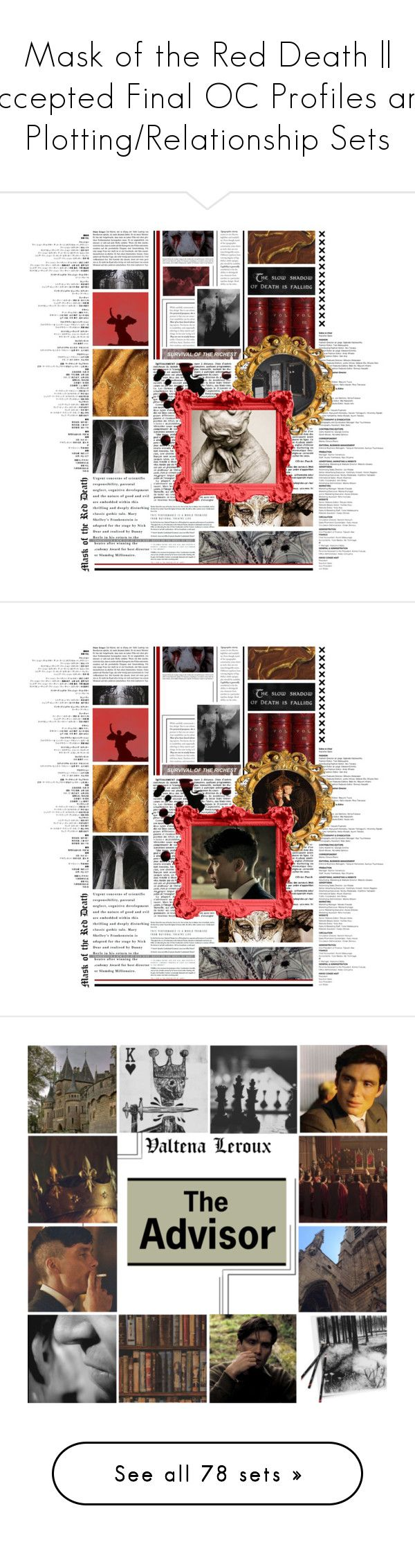 best ideas about plot of macbeth macbeth plot mask of the red death accepted final oc profiles and plotting relationship sets by 10084 liked on polyvore featuring art macbeth barker men s fashion