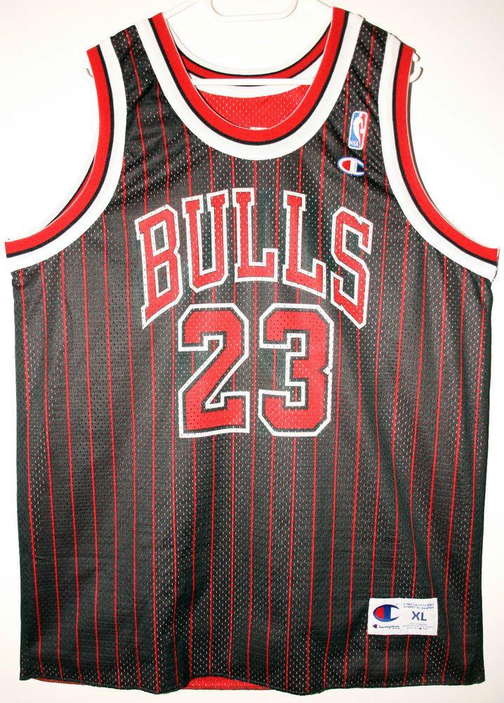 Champion NBA Basketball Chicago Bulls #23 Michael Jordan Trikot/Jersey Size 48 - Größe XL - 199,90€ #nba #basketball #trikot #jersey #ebay #sport #fitness #fanartikel #merchandise #usa #america #fashion #mode #collectable #memorabilia #allbigeverything