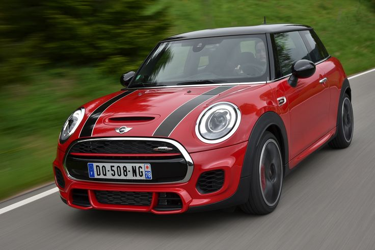 mini john cooper works f56 in chili red mini cooper s. Black Bedroom Furniture Sets. Home Design Ideas