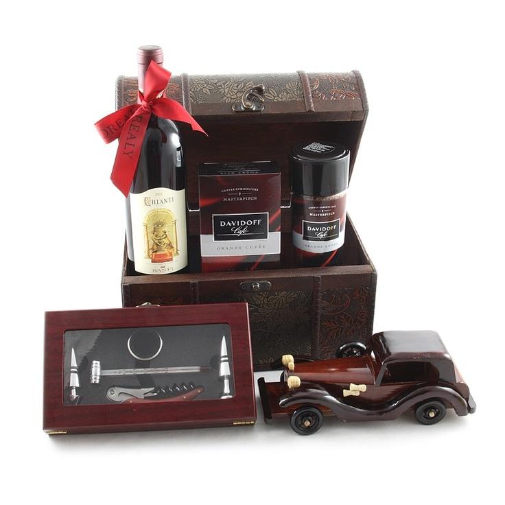 Un cadou pentru pasionatii de masini si vin de calitate.