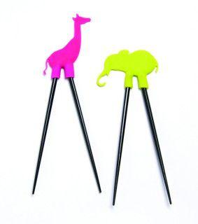 Love these kids' chopsticks!Stix Sets, Kitchens Stuff, Kids Stuff, Gift Ideas, Dci Safari, Stockings Stuffers, Safari Ideas, Christmas Gift, Safari Stix