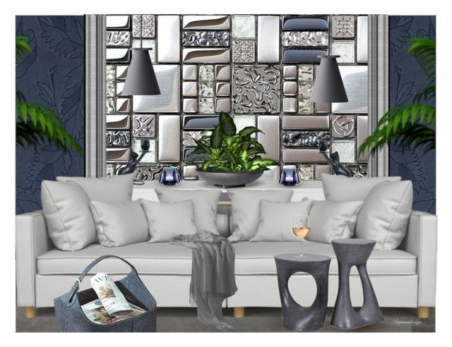 Awesome  MODERN FEMININE by arjanadesign liked on Polyvore featuring interior interiors interior
