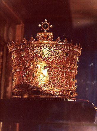 Crown of Ethiopia.  The Crown of Emperor Haile Selassie with which he was crowned on November 2, 1930, at Addis Ababa's Cathedral of St. George.
