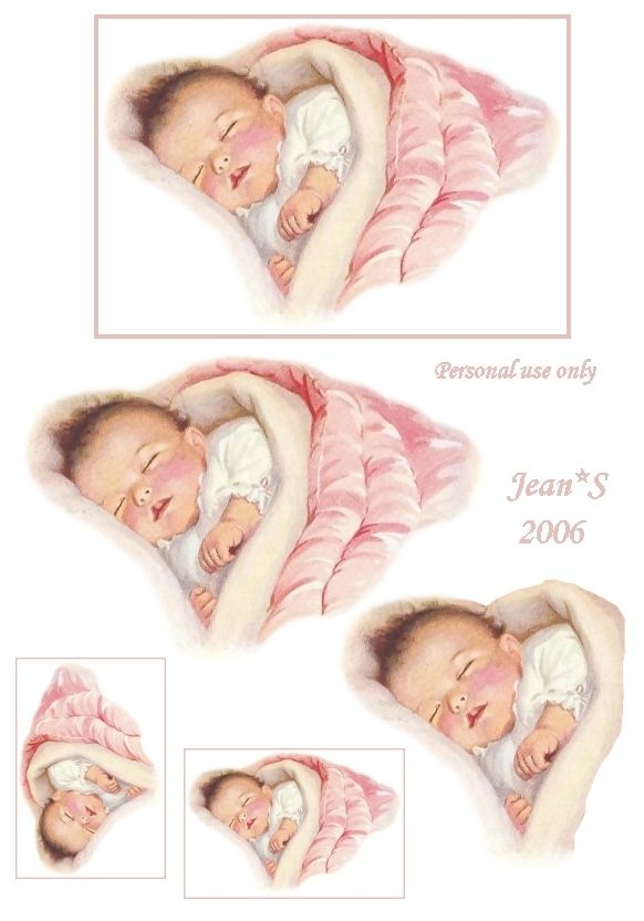 Sleeping.Baby.Pink