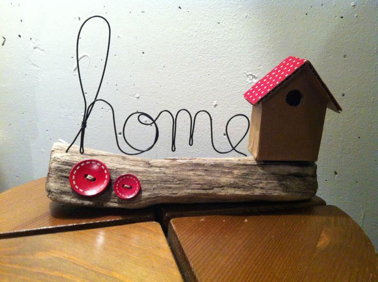 d co bois flott home is where the heart is nature art. Black Bedroom Furniture Sets. Home Design Ideas