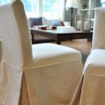 Collection of DIY furniture slipcovers and upholstery tutorials