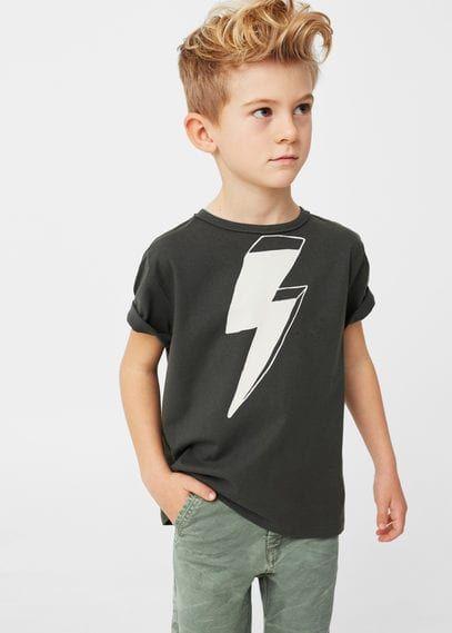 Katoenen T-shirt met afbeelding