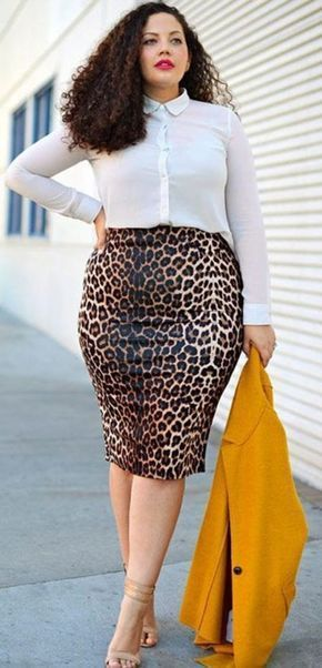 40 Plus Size Outfits For Office Women