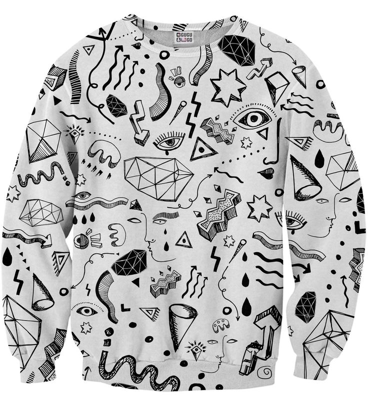 Symbols sweater, Mr. GUGU & Miss GO