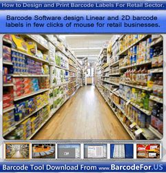 This document described how to generate barcode in linear and 2D technology for retail sectors. You can create barcode tag for all large and small scale industries. Retailer use barcode system for inventory control. You may also learn designing and printing process of barcode labels.