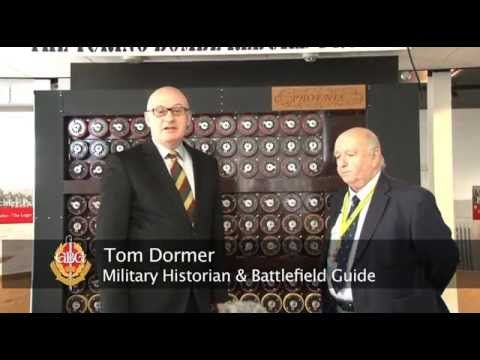 BHTV's Tom Dormer interviews Tony Jarvis on location at #BletchleyPark about the rebuilt, and fully functional, bombe. Including #WW2 veteran & Bletchley Park worker Sue Winn.