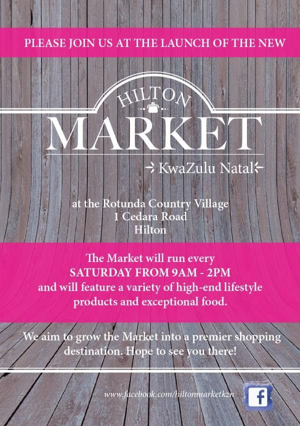 The Hilton Market is a unique concept market opening on 13 June, 2015, at the Rotunda Country Village, featuring a variety of high-end lifestyle products. The market will run every Saturday from 9am – 2pm.