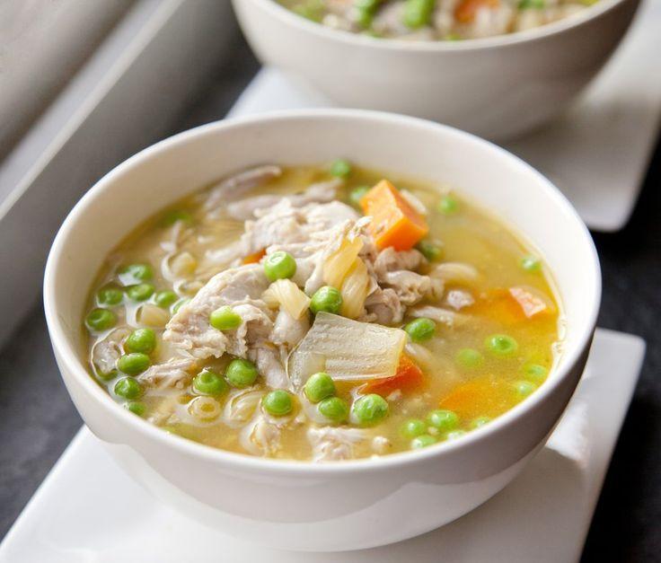 Pressure Cooker Chicken Soup - via @sbojarski