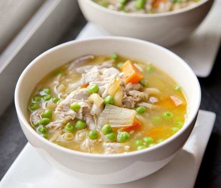 Pressure Cooker Chicken Soup - via @sbojarski
