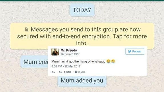 This mum's well-meaning WhatsApp fail may be the greatest of all time