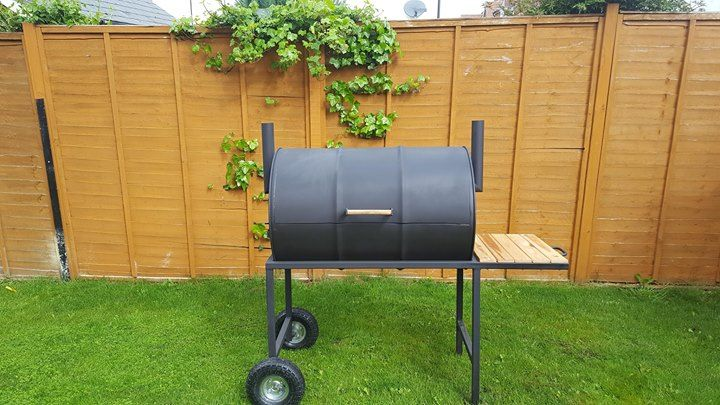 I made an oil drum BBQ Check out the full project http://ift.tt/1qCUOTF Don't…