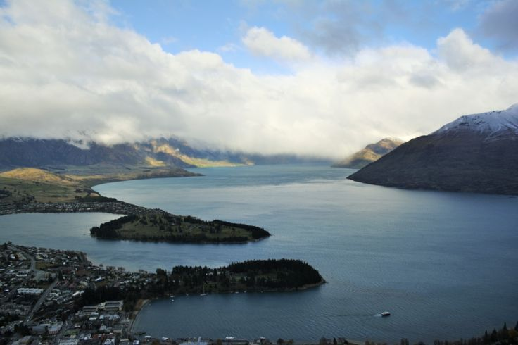 View 2 from the Gondolas at Queenstown, NZ