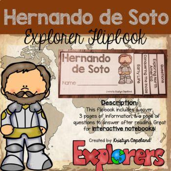 Hernando de Soto: Flipbook (Interactive Notebooks)