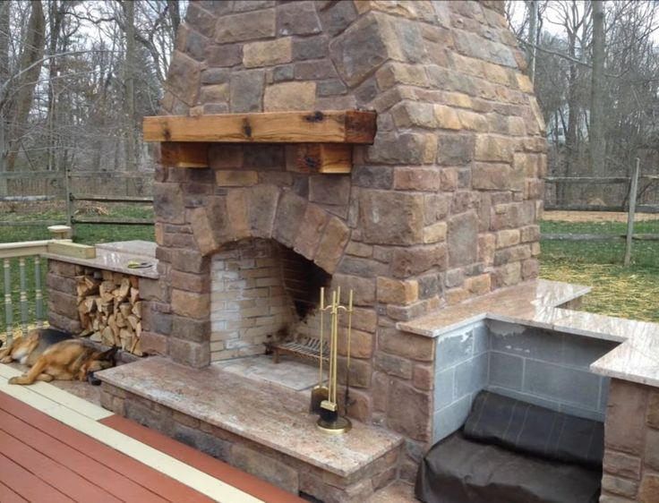 Outdoor wood burning fireplace #burning #wood outdoor wood burning fireplace - 17 Best Ideas About Outdoor Wood Burning Fireplace On Pinterest