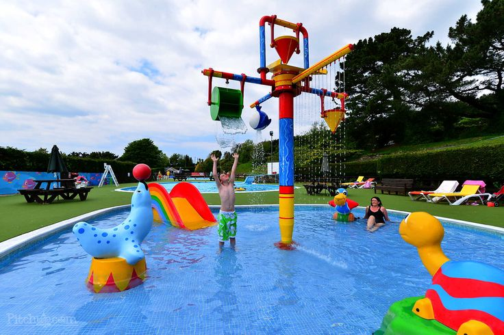 Newquay Holiday Park in Devon England is a great place to take kids for an activity holiday whether it is at the centre itself or visiting the nearby sandy beach which is also popular with surfers.