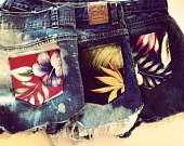 hawiian shirt pockets!  Have to make these!!