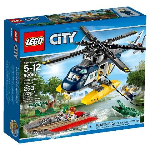 Lego® City Police Helicopter Pursuit 60067