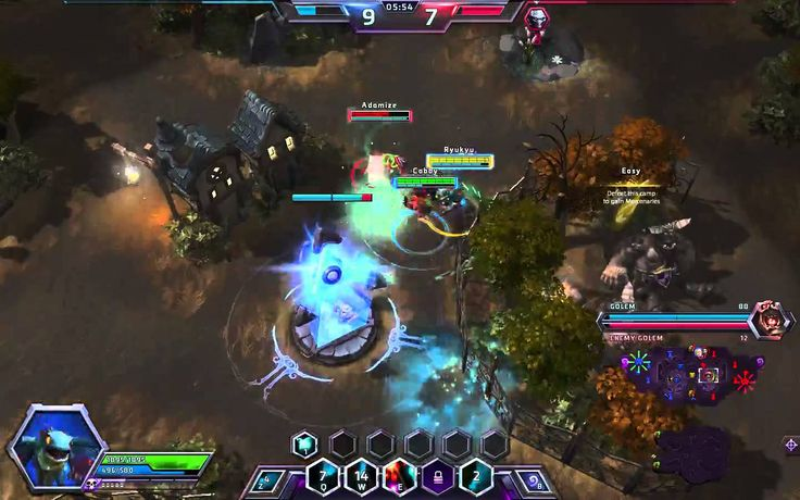 Heroes of the Storm - Brightwing Gameplay #3