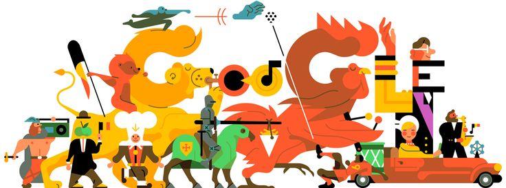 Google - Google Doodle Belgian National Day