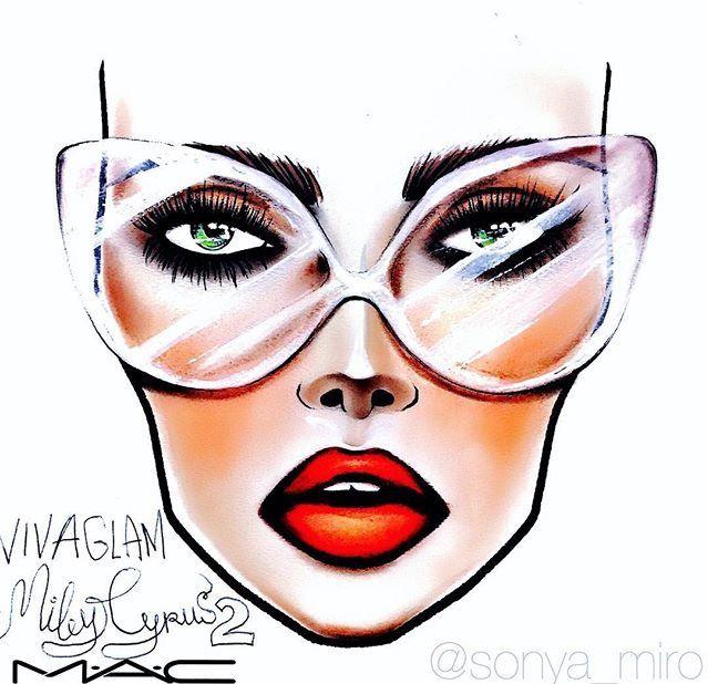 25+ best Face chart mac ideas on Pinterest   croquis MAC ...