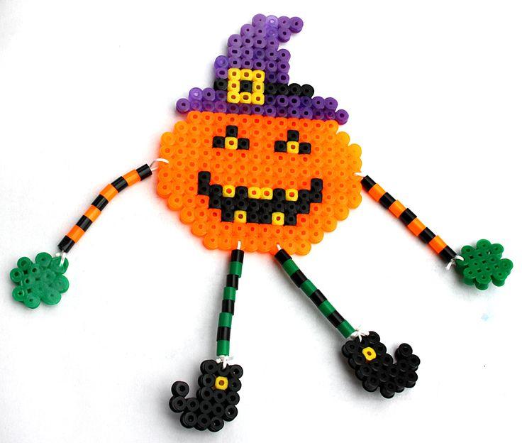 Halloween hama perler beads