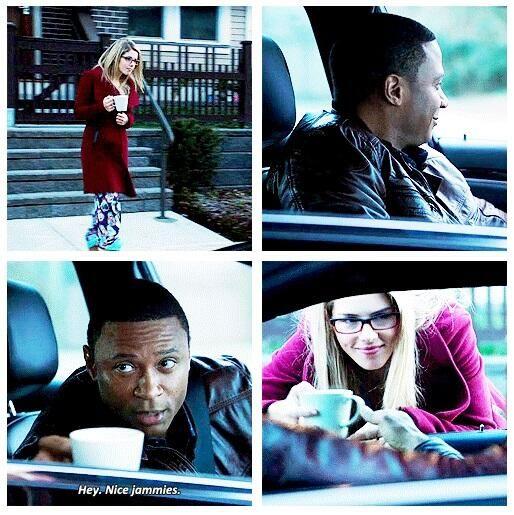 Arrow - Felicity & Diggle #2.16 #Season2: I love this so much, I hope when I grow up I'm Felicity @Katherine Adams Nemecek