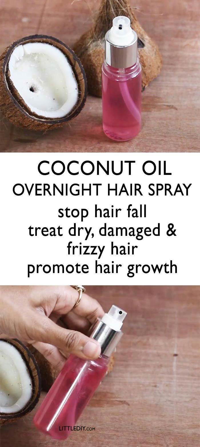 COCONUT OIL HAIR SPRAY