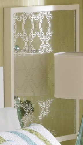 Etched Mirror: Guestroom, Bathroom, Etched Mirror