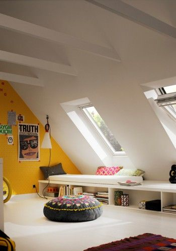 25 best ideas about amenagement comble on pinterest for Amenagement grenier en chambre