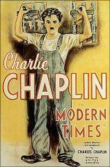 CINE(EDU)-80.Tiempos modernos / escrita y dirigida por Charles Chaplin. Estados Unidos, 1936. Comedia. O home contra as máquinas. Coa revolución industrial un obreiro perde o seu traballo ao non se poder adaptar ao proceso automático de produción. Presionado por encontrarse nas filas do desemprego, coñecerá unha moza abandonada nas rúas e xuntos irán en busca da felicidade e dun soldo. http://kmelot.biblioteca.udc.es/record=b1354997~S1*gag