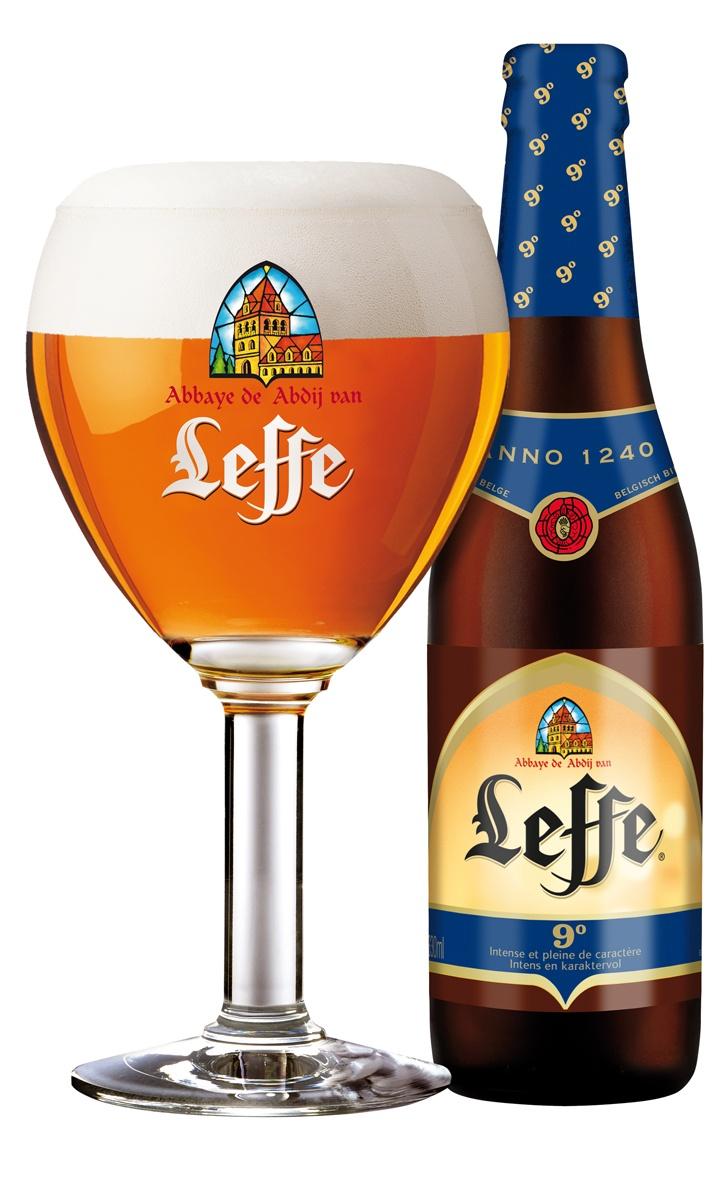 Leffe 9°: Belgian Abbey beer.