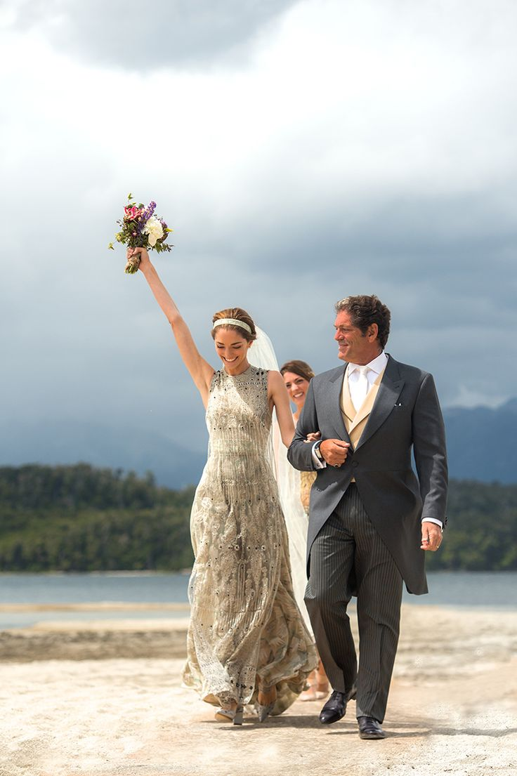 Patagonian Pairing: Sofía Sanchez Barrenechea and Alexandre de Betak's Wedding – Vogue